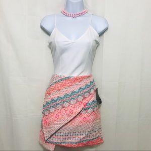 Zara multi color skirt